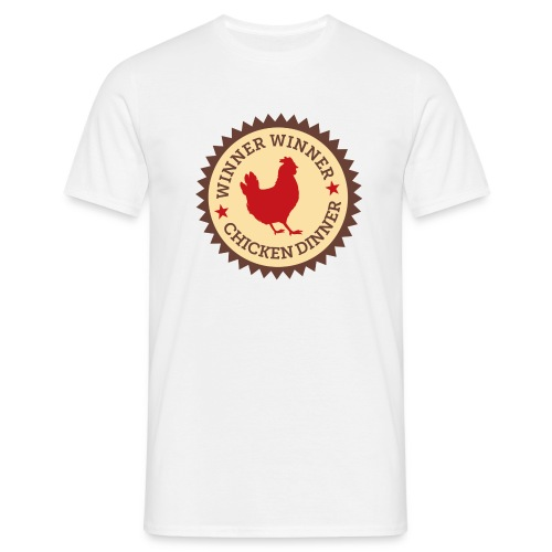 WINNER WINNER CHICKEN DINNER - Men's T-Shirt