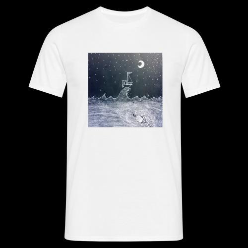 Saling Jade - Night Waves - T-shirt herr