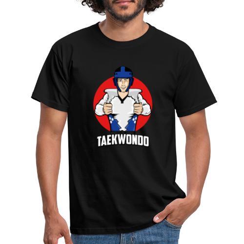 Nouveau Design Taekwondo Dessin Animé Cartoon - T-shirt Homme