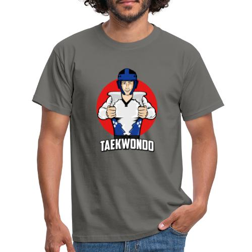 Nouveau Design Taekwondo Dessin Animé Cartoon - T-shirt Homme