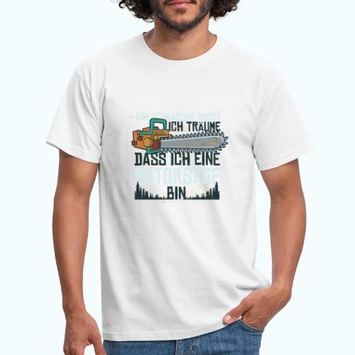 Lustiger Schnarcher - Men's T-Shirt