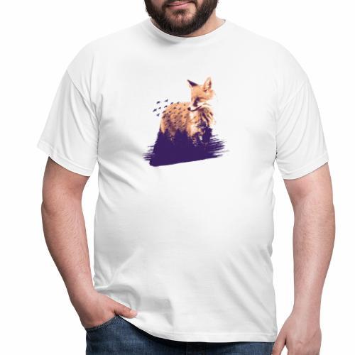 Fox forest - Männer T-Shirt