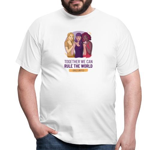 t shirt design generator featuring three women - Camiseta hombre