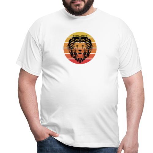 Lion Sundown - Männer T-Shirt