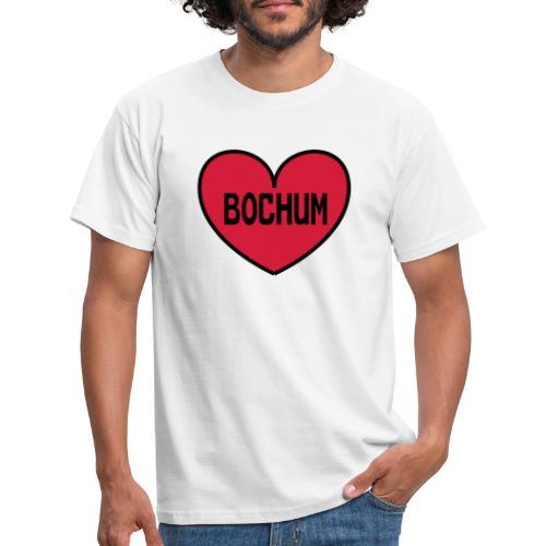 Bochum Herz - Männer T-Shirt