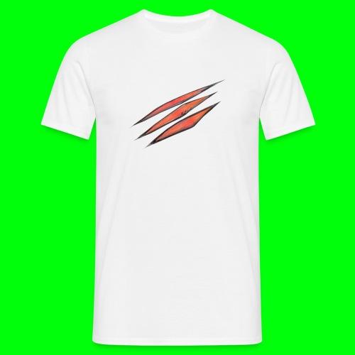 3d scratches - Männer T-Shirt