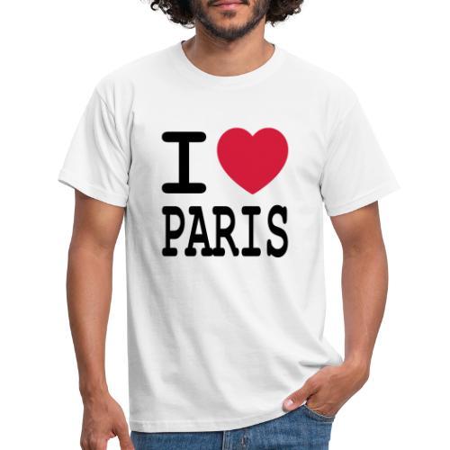 I love Paris - Mannen T-shirt