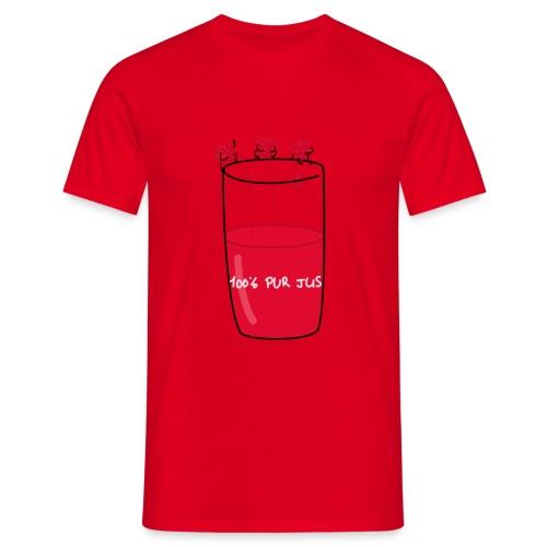 Des framboises pour adrian png - T-shirt Homme