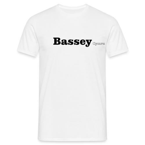 bassey cymru - Men's T-Shirt