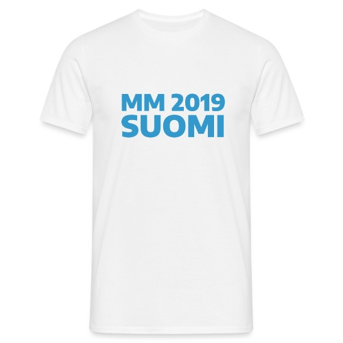 mm-2019-suomi - Miesten t-paita