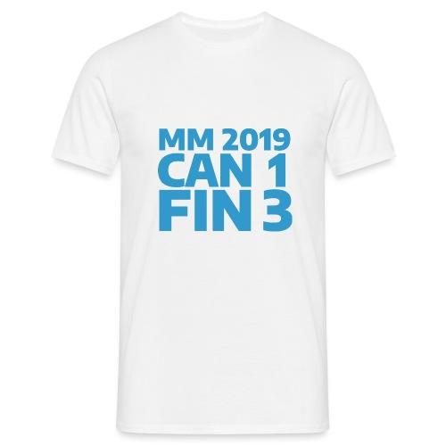 mm-2019-can-fin - Miesten t-paita