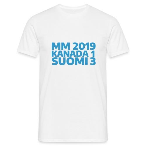 mm-2019-kanada-suomi - Miesten t-paita