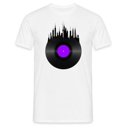 Vinyle gratte ciel 2 png - T-shirt Homme