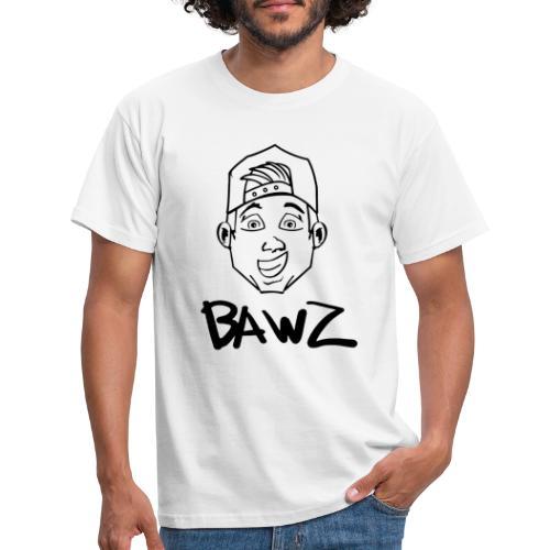 Bawz gezicht - Mannen T-shirt