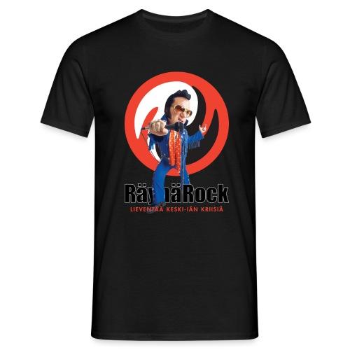 Räyhärock valkoinen - Miesten t-paita
