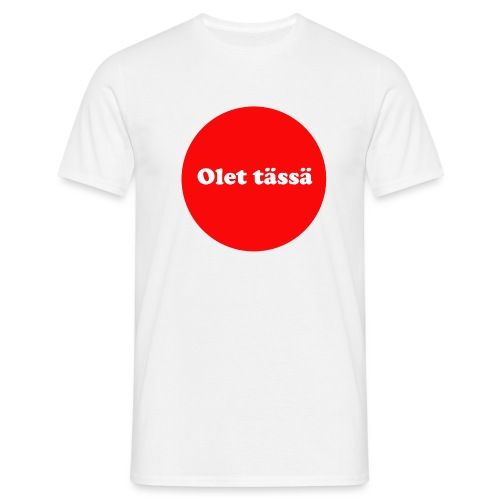 olet - Miesten t-paita