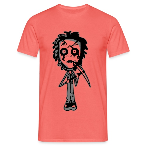 Mike Myers White Background - Men's T-Shirt