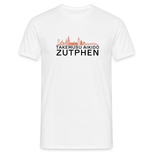 zutphen stadsgezicht oranje - Mannen T-shirt