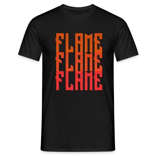 maglietta_flame_flame_flame - Maglietta da uomo