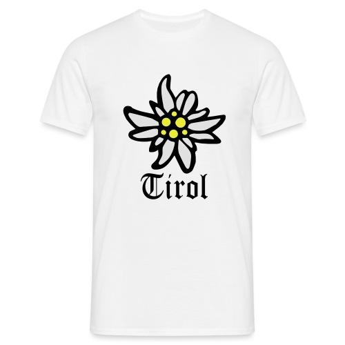 Tirol Edelweiss - Männer T-Shirt