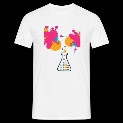 FarbeKlecks - Männer T-Shirt