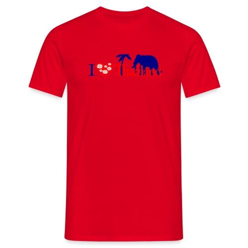 I love Thailand - Men's T-Shirt