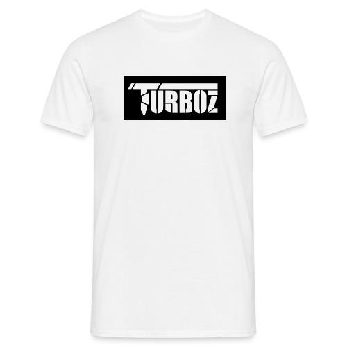 Black Turboz Background - Men's T-Shirt