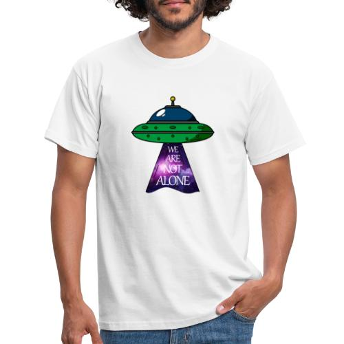 We are not alone - Camiseta hombre