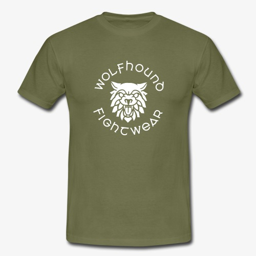 logo round w - Men's T-Shirt