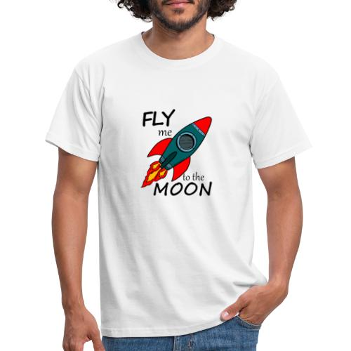 Fly me to the moon - Camiseta hombre