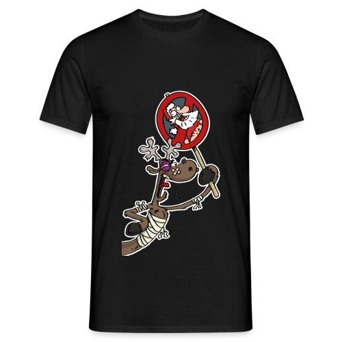 VAN GURK FLitzer mit VAN GURK Logo schwarz - Männer T-Shirt