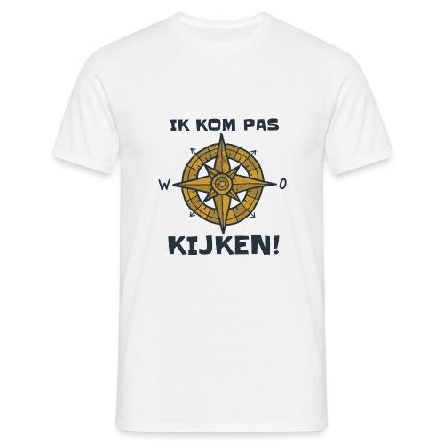 ik kompas kijken - Mannen T-shirt