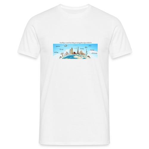Travelling - Männer T-Shirt