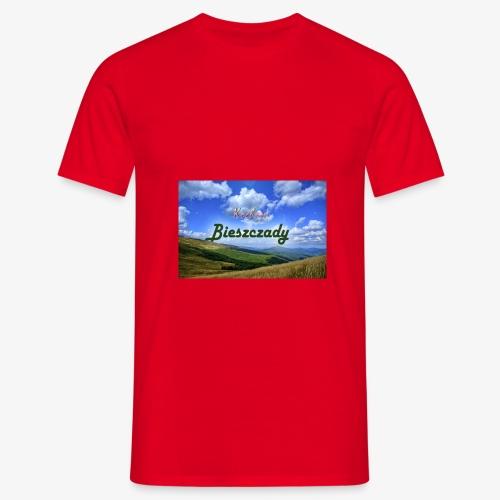 Kocham Bieszczady - Koszulka męska