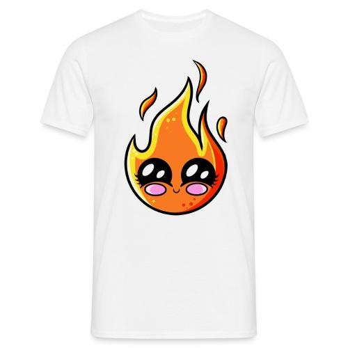 Kawaii Fire - T-shirt Homme