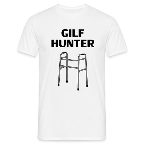 GILF Hunter - Männer T-Shirt