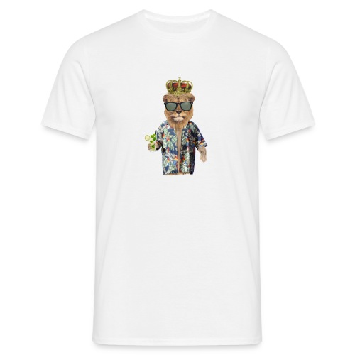 Urlaubslöwe - Männer T-Shirt