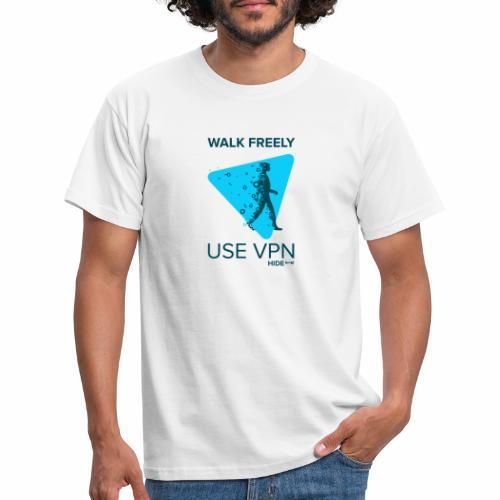 Walk Freely - Men's T-Shirt