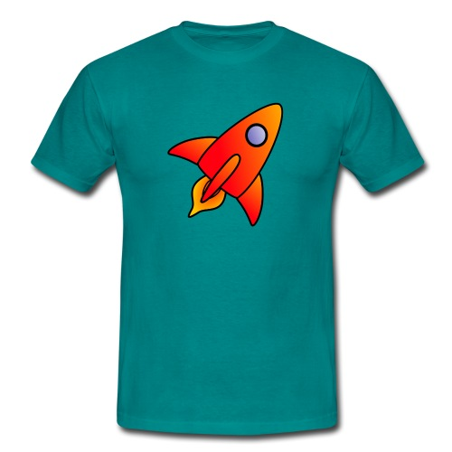 Red Rocket - Men's T-Shirt