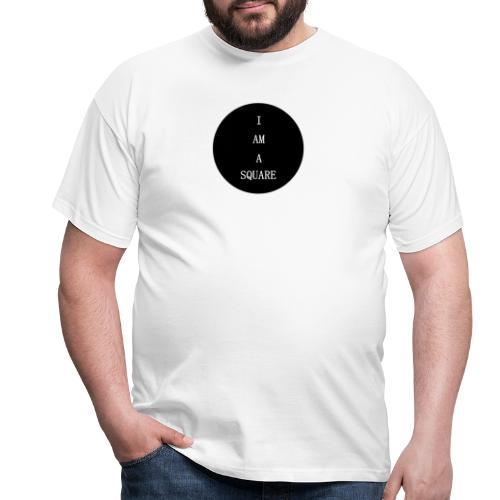 I AM A SQUARE - Maglietta da uomo