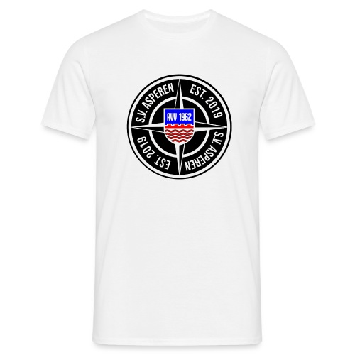 SV ASPEREN BADGE TEMPLATE - Mannen T-shirt