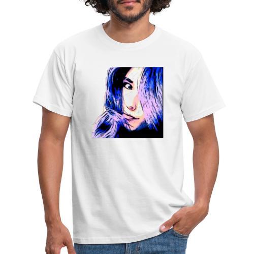 Dia face - Herre-T-shirt