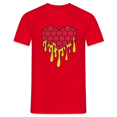Honey heart cuore miele radeo - Maglietta da uomo
