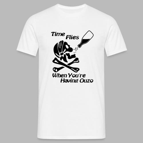 Time Flies Ouzs Shirt - Männer T-Shirt