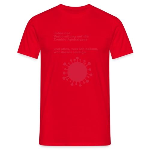 LausigeCoVid19 - Männer T-Shirt