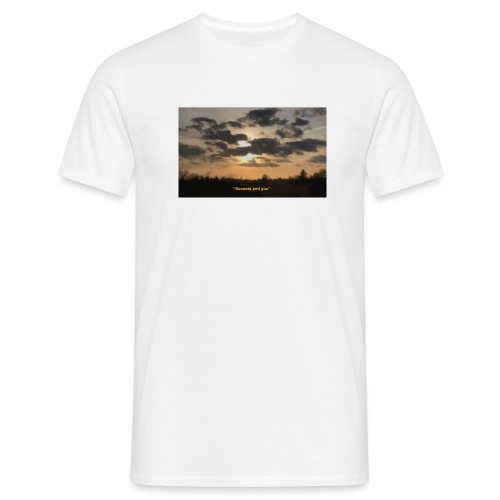 Sunsets and you - Herre-T-shirt
