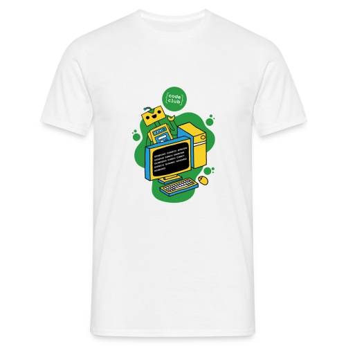 Code Club T-Shirt - Men's T-Shirt