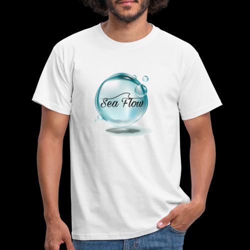 abbigliamento e tazze logo Sea Flow Bolla - Maglietta da uomo