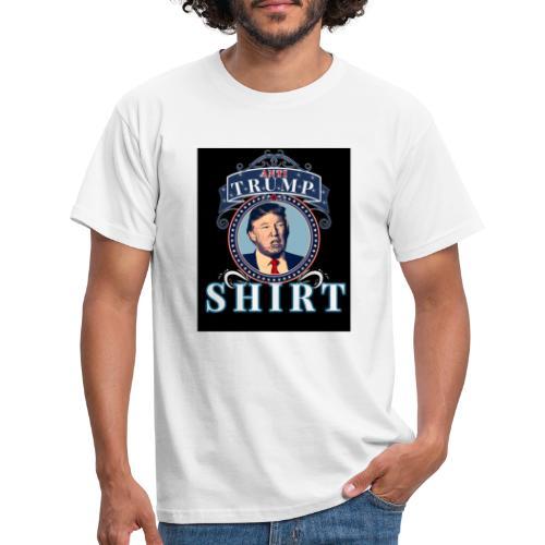 Anti Trump - Männer T-Shirt