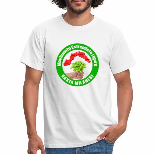 SIMBOLO UFFICIALE MOVIMENTO ESTREMISTA LIGURE - Maglietta da uomo